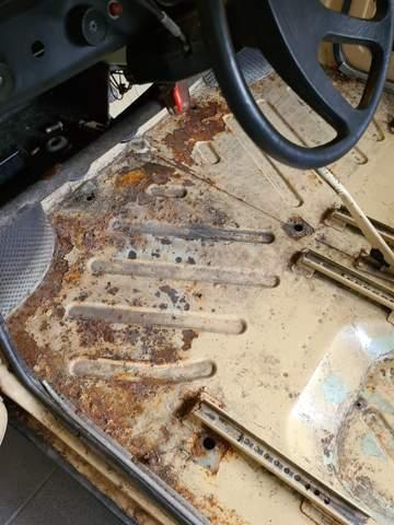 Gute Tipps für Rostigen Boden am Auto?