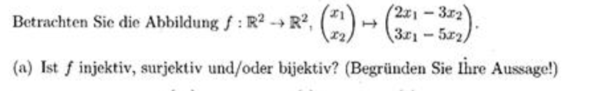 folgende Aufgabe - (Schule, Mathematik, lineare-algebra)