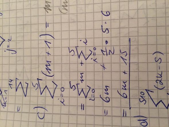 Gaußsche Summenformel - (Mathe, Mathematik, Rechnen)