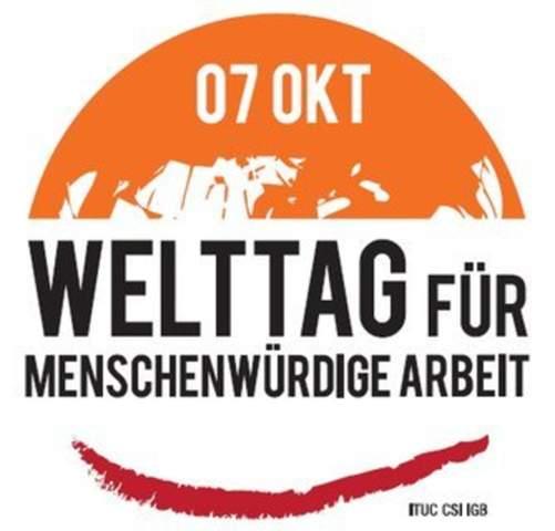 Guten Morgen am Mittwoch. Der 7. Oktober ist der Welttag für menschenwürdige Arbeit. Wie definiert ihr für euch persönlich menschenwürdige Arbeit?
