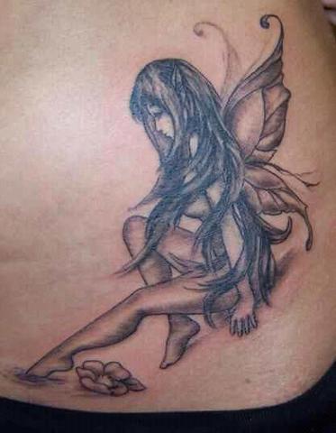 zukünftiges engel tattoo =) - (Tattoo, zeichnen, Künstler)