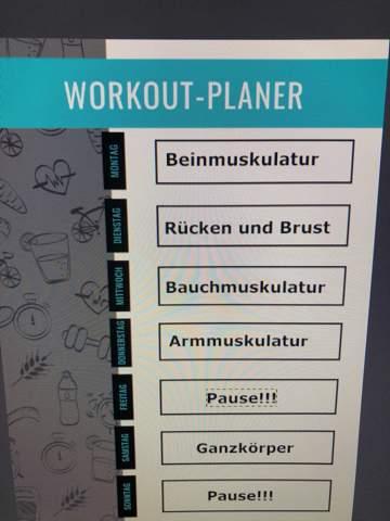 guter Split Workout Plan Empfehlung?