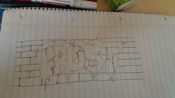 Das ist das Graffiti Bild - (Kunst, Graffiti)