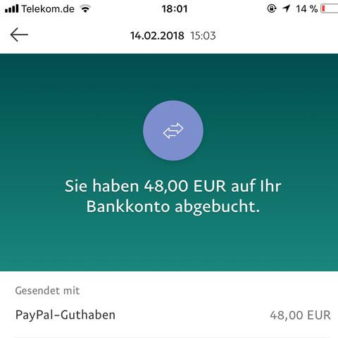 Guthaben Abbuchen Offen Paypal
