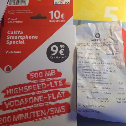 vodafone prepaid karte aufladen Wie kann ich mein Guthaben aufladen? (Handy, Vodafone, Code)