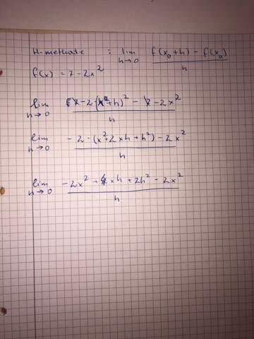 H-Methode/Funktion unmöglich zu vereinfachen?