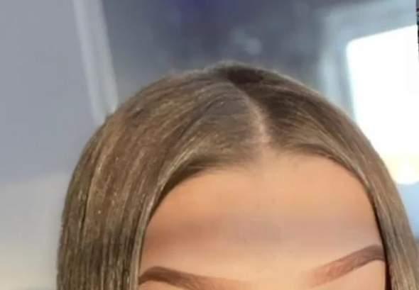 Haaransatz so fallen lassen/ stylen?