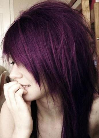 Haare Lila Auswaschen