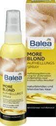 Haare aufhellen mit Balea blond Spray?