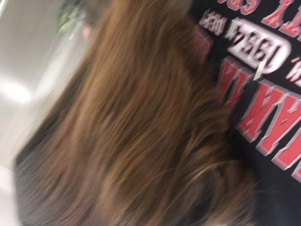 Haare Blau Tönen Braun
