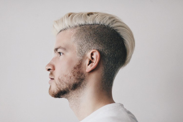 Ungefähr so: - (Junge, blond, Haare färben)