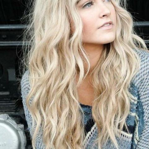 blondierte haare blond färben