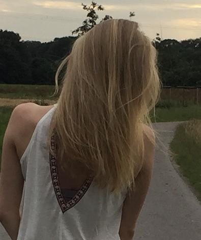 Braune haare wieder blond