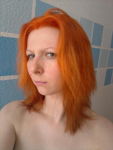 Getonte Tagescreme Naturkosmetik Haarfarbe Kupfer Orange