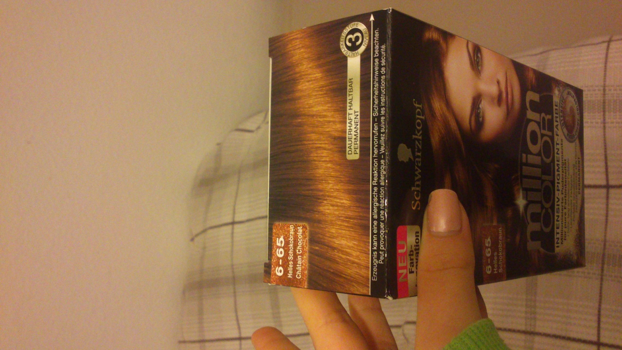 Haare Färben : Dunkelbraun zu Schoko-braun ohne Blondieren ...