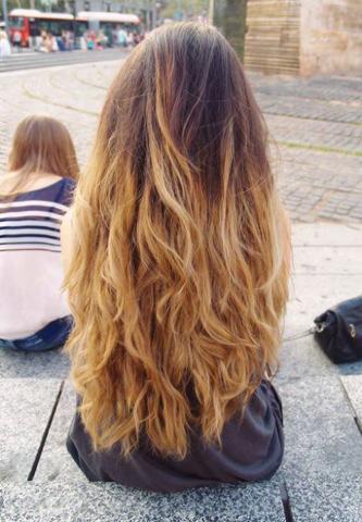 Haare F 228 Rben Ombr 233 Bei Hellen Haaren Haarfarbe Blond