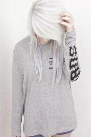 auf das weiß - (Haare, färben)