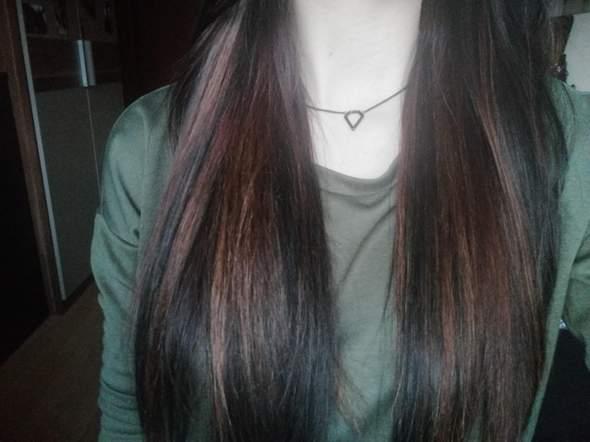 Haare färben braun wieder schwarz?