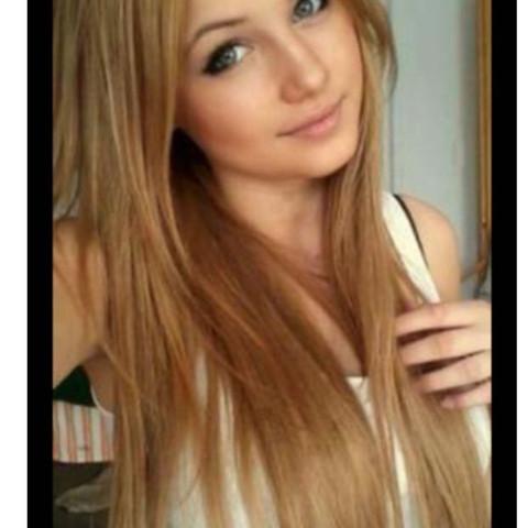 Haarfarbe, Caramell blond, färben - (Haare, Farbe, Haarfarbe)