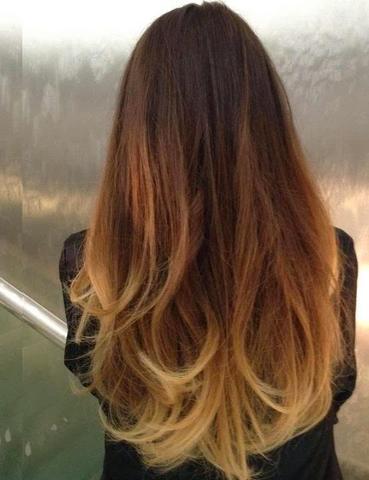 :) - (Haare, färben)