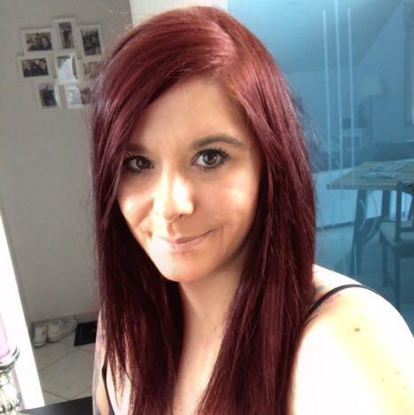 Haarfarbe dunkelbraun rot