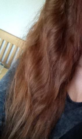 Jetzige Haarfarbe  - (Haare, färben, Tönung)