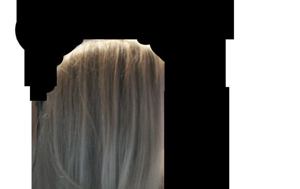von (mir aus) rechts - (Haare, Farbe, Haarfarbe)