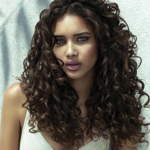 Lange haare locken dauerhaft