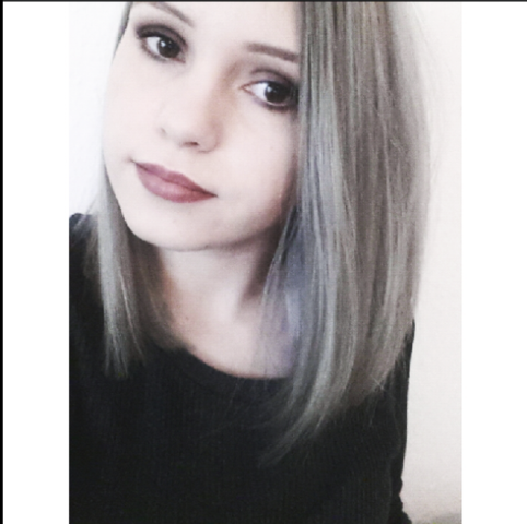 meine aktuelle graue haarfarbe - (Haare, Friseur, Haarfarbe)