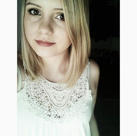 meine Blonde Haarfarbe davor - (Haare, Friseur, Haarfarbe)