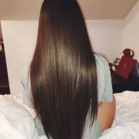 So in etwa :) - (Haare, Farbe, färben)