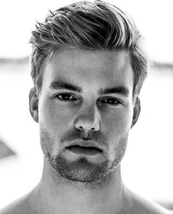 Frisuren Herren Kurz Blond Mittellange Haare