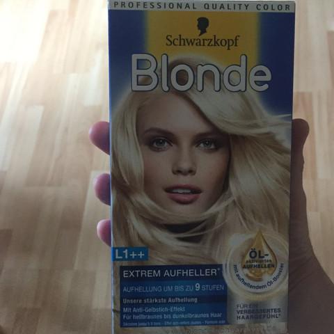 Das ist die Haarfarbe was ich genommen habe  - (Haare, Friseur, Haarfarbe)