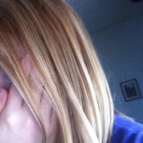 Also die Haare sind oben eigentlich heller ... - (Haare, tönen, directions)