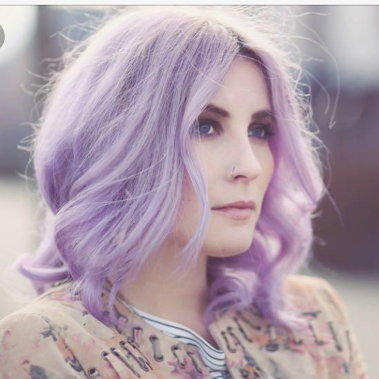 Haare mit directions(lilac) tönen? (Friseur, lila)