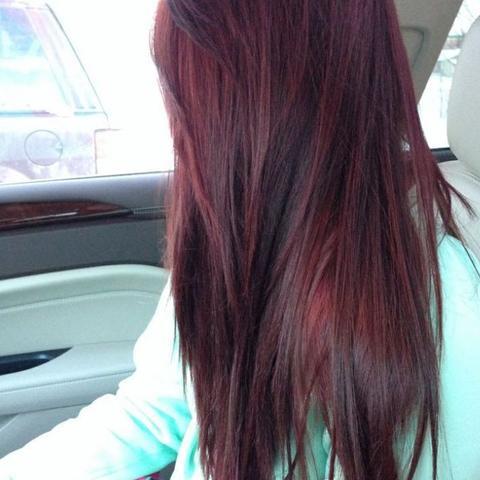 So möchte ich es haben ohne zu blondieren , meine Ausgangsfarbe ist dunkelbraun  - (Haare, Vitamin C)