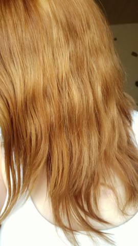Haare Nach Blondieren Etwas Orange Kann Ich Drüber Färben