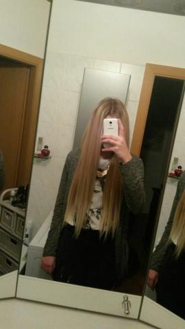 meine Farbe davor - (Haare, Haarfarbe)