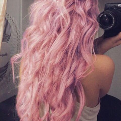 Haare Rosa Tönen. Wird es zu Orange? (Haare färben)