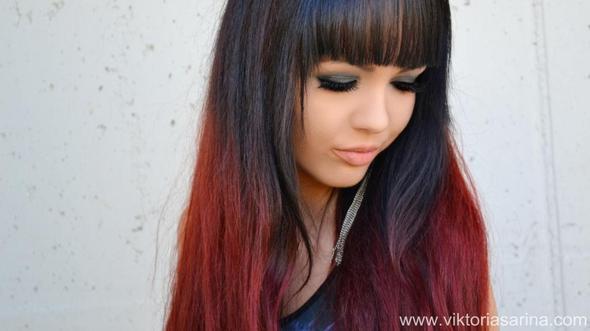 Rote spitzen - (Haare, Frisur)