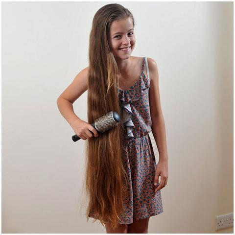 Extrem lange haare frisuren