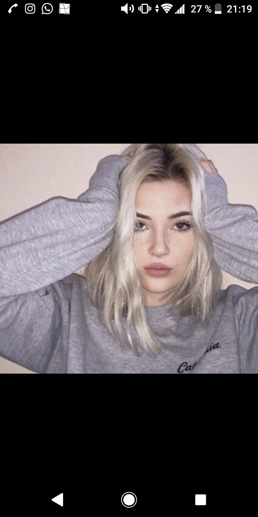 Haare Silberblond Farben Haarfarbe Blond