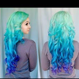 So wie da - (Haare, Farbe)