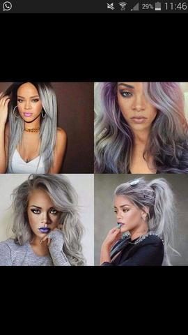 Wie ich sie gern hätte (grau/lila) - (Haare, tönen, blondieren)