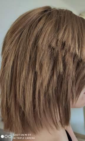 Haare Verschnitten Von Frisor Friseur