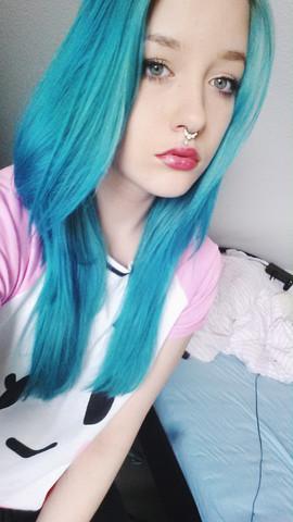 Das sind zurzeit meine haare - (Haare, Haarfarbe)