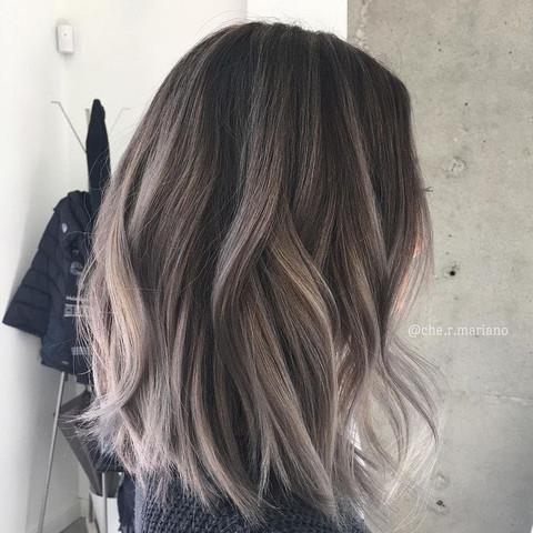 Haarfarbe von braun zu blond