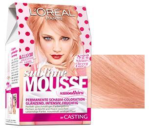 Rosa haare nach blondieren