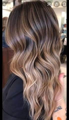 Strähnen mit haarfarbe hellbraun blonden ▷ 1001+