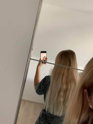 Haare von Natur aus gewellt und gerade?